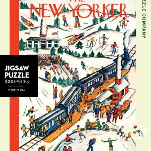 New York Puzzle Company - Winter Weekend 1000 Piece Puzzle