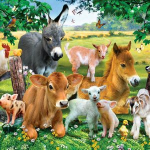 On the Farm 300 XL Piece Puzzle - Sunsout
