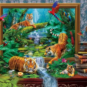 Out of the Jungle 1000 Piece Jigsaw Puzzle - Sunsout