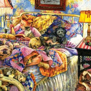 Pet Bed 1000 Piece Jigsaw Puzzle