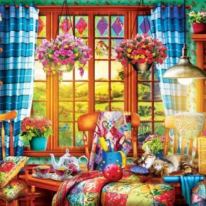 Quilting Craft Room 1000 Piece Puzzle- Eurographics