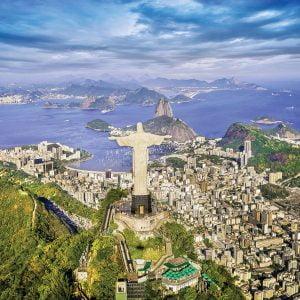 Rio De Janeiro, Brazil 1000 Piece Jigsaw Puzzle