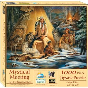 Mystical Meeting 1000 Piece Jigsaw Puzzle - Sunsout