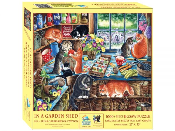 In a Garden Shed 1000 Piece Jigsaw Puzzlle - Sunsout