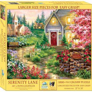 Serenity Lane 1000 XL Piece Jigsaw Puzzle - Sunsout