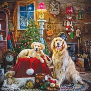 Santa's Little Helpers 1000 Piece Jigsaw Puzzle