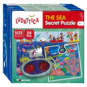 Secret Puzzle - The Sea 34 Piece - Ludattica