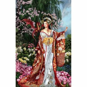 Sekkerastoya Queen of Silk 1000 Piece Jigsaw Puzzle