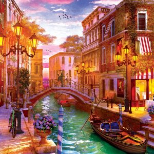 Sunset over Venice 1000 Piece Jigsaw Puzzle