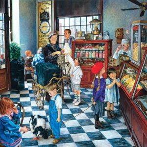 Susan Brabeau - Confectionary Shop 1000 Piece Puzzle