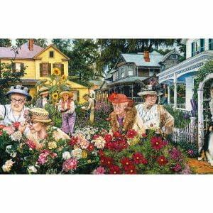 Susan Brabeau - Ladies Garden Club 1000 Piece - Sunsout
