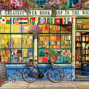 The Greatest Bookstore in the World 1000 Piece Puzzle - Eurographics