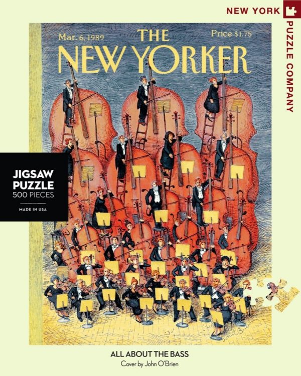 The New Yorker - All About the Base 500 Piece Puzzle