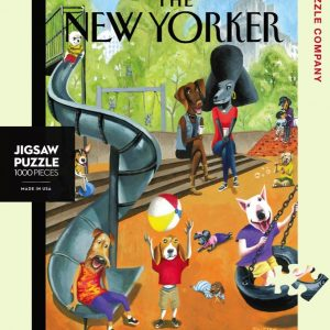 The New Yorker Off the Leash 1000 Piece Puzzle