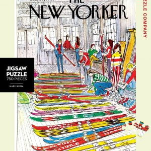 The New Yorker - Ski Shop 750 Piece Jigsaw Puzzle