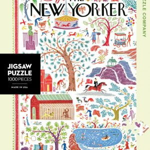 The New Yorker - Stories of Spring 1000 Piece Puzzle
