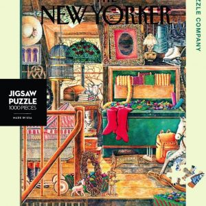 The New Yorker - Christmas Attic 1000 Piece Puzzle