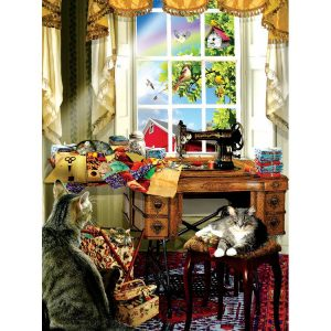 The Sewing Room 300 Larger Size Piece Puzzle