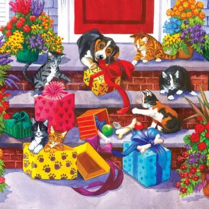 Time For Toys and Treats 1000 Piece Jigsaw Puzzle