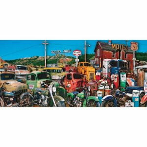 Truck Stop 500 Piece Jigsaw Puzzle - Stop