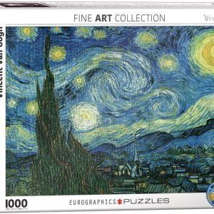 Van Gogh - Starry Night 1000 Piece Puzzle - Eurographics