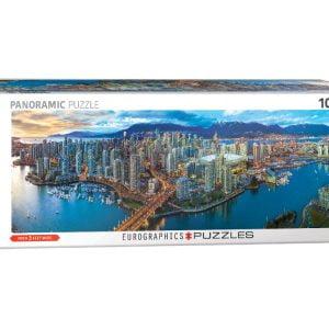 Vancouver British Columbia 1000 Piece Panoramic Puzzle
