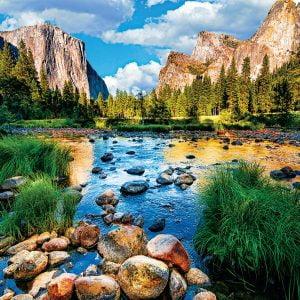 Yosemite National Park 1000 Piece Jigsaw Puzzle
