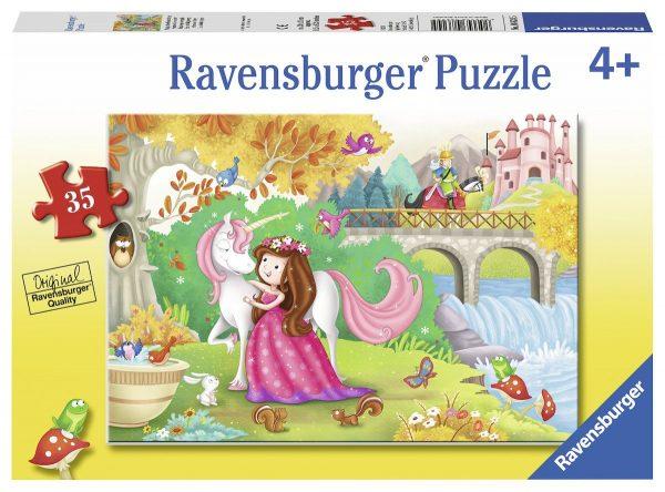 Afternoon away 35 Piece Jigsaw Puzzle - Ravensburger