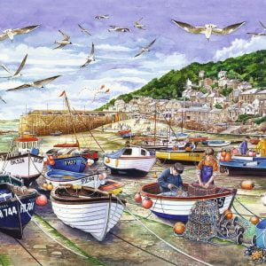Around Britain - Mousehole Cornwall 1000 Piece Jigsaw Puzzle