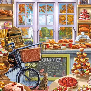 Bella's Bakery 1000 Piece Jigsaw Puzzle