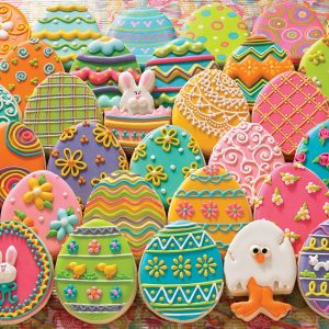 Easter Eggs 1000 Piece Cobble Hill Jigsaw Puzzle