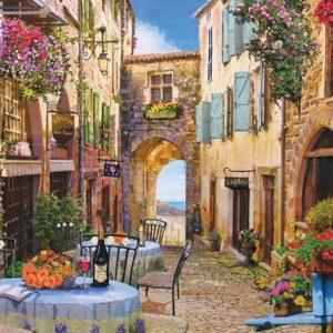 French Village 1000 Piece Cobble Hill Jigsaw Puzzle