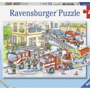 Heroes in Action 2 x 24 Piece Puzzle - Ravensburger