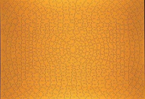 Krypt Gold 631 Piece Jigsaw Puzzle - Ravensburger