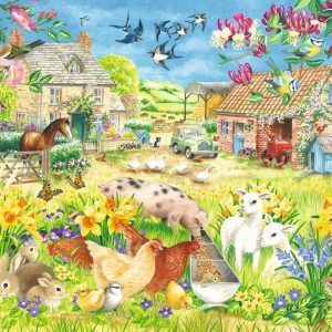 Lambing Season 500 XL Piece Jigsaw Puzzle