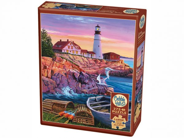 Lighthouse Cove 275 XL Piece Easy Handling Puzzle