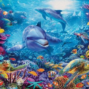 Magnificent Underwater World 1000 Piece Jigsaw Puzzle