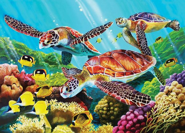 Molokini Current 350 Piece Family Format Puzzle - Cobble Hill