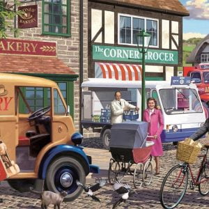 Morning Deliveries 1000 Piece JIgsaw Puzzle