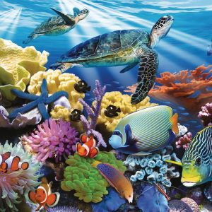 Ocean Turtles 200 XXL Piece Jigsaw Puzzle - Ravensburger
