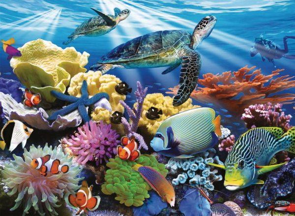 Ocean Turtles 200 XXL Piece Jigsaw Puzzle - Ravensburger