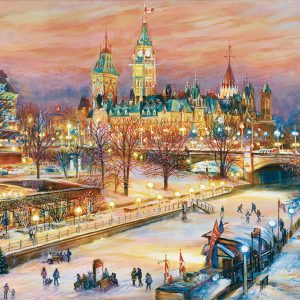 Ottawa Winterlude Festival 1000 Piece Jigsaw Puzzle - Ravensburger