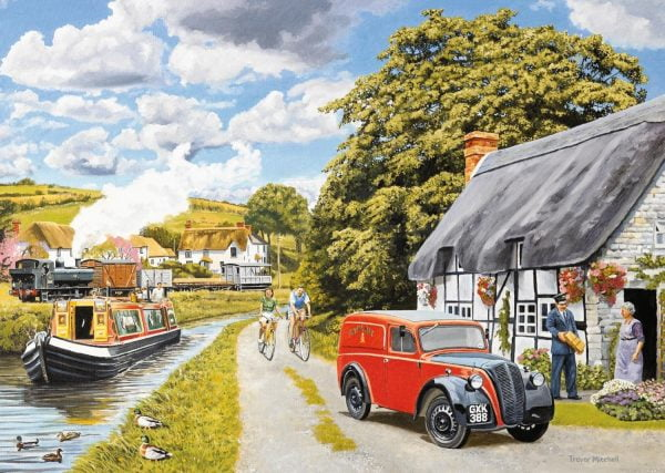 Parcel for the Canal Cottage 200 XL Piece Jigsaw Puzzle