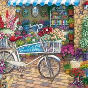 Pedals 'N' Petals 275 XL Easy Handling Jigsaw Puzzle