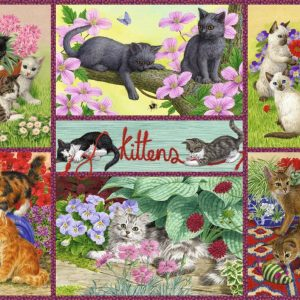 Playful Kittens 500 Piece Jigsaw Puzzle