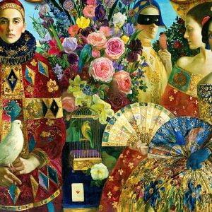 Renaissance Realm - Promenade 1000 Piece Holdson Puzzle