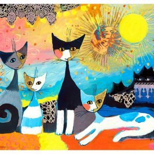 Rosina Wachtmeister - Laces 1000 Piece Heye Puzzle