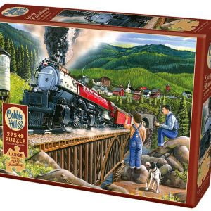 Steaming out of town 275 XL Piece Jigsaw Puzzle