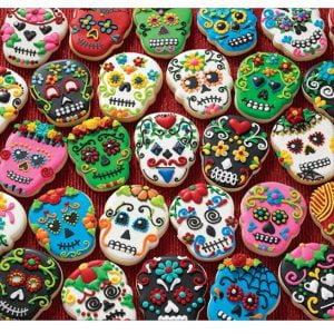 Sugar Skull Cookies 1000 Piece Cobble Hill Jigsaw Puzzle