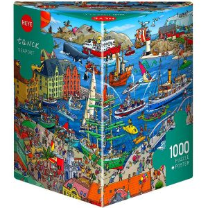 Tanck Seaport 1000 Piece Heye Puzzle